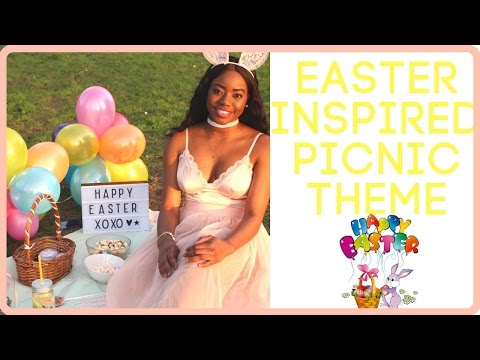 HOW TO SYTLE EASTER INSPIRED    OUFIT IDEA
