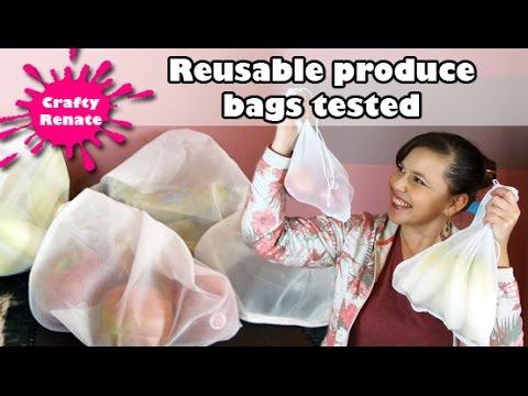 Reusable produce bags (Flip & Tumble) review