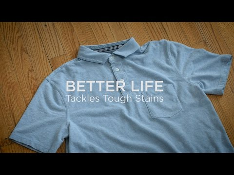 Better Life Natural Laundry Detergent and Stain & Odor Eliminator tackles tough stains