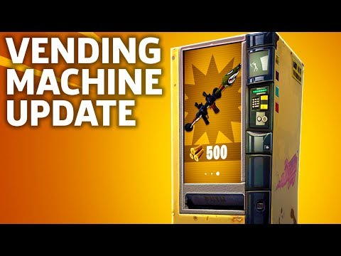 Fortnite Vending Machines Update Overview