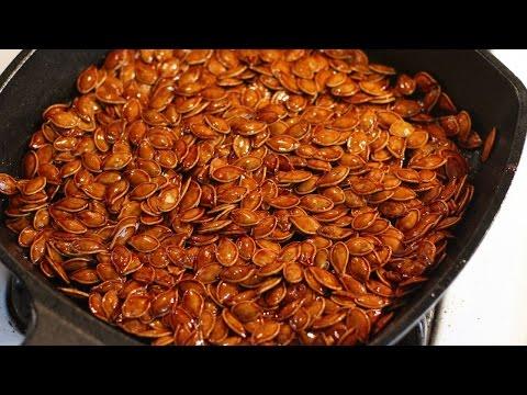 Make Spiced Honey Roasted Pumpkin Seeds - DIY Food & Drinks - Guidecentral