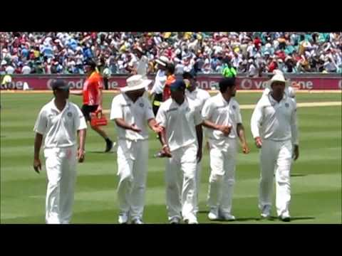 Indian Cricket team at the Sydney Cricket Ground ( SCG ) for the 2nd Test Match