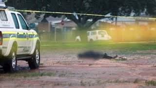 Alleged killer seen dead outside Cape Town mosque after attack