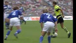 BL 91/92 - FC Schalke 04 vs. Borussia Dortmund 5:2