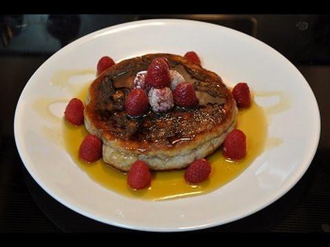 Awesome Raspberry Pancakes