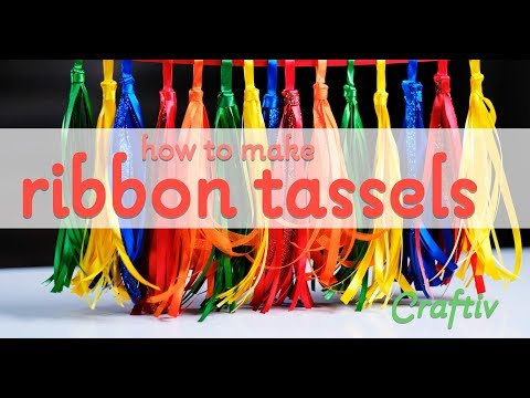 How to Make a Ribbon Tassel Craft