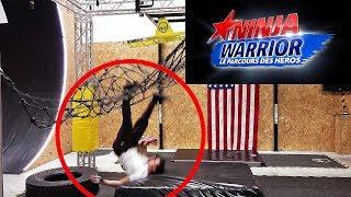 Ce Crashe A Ninja Warrior