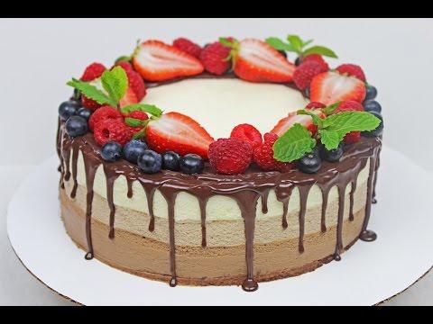 Triple Chocolate Mousse Cake | Chocolate Dessert