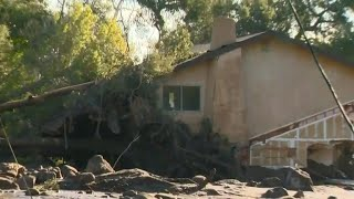 Son desperately searching for mom in California mudslides