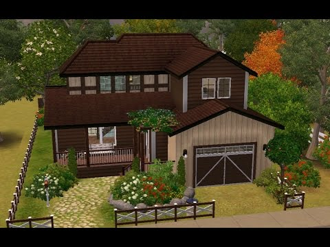 Sims 3 House Building - Frank's Cottage