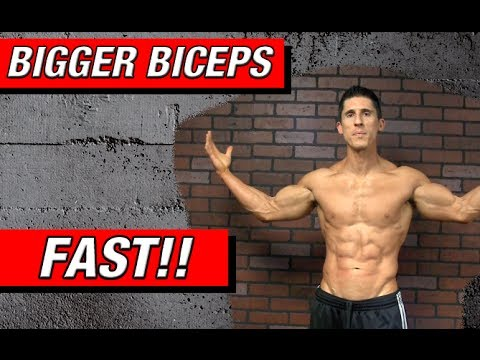 Grow Bigger Biceps - FASTER!! (New Exercise)