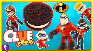 Incredibles Play Clue Jr by HobbyKidsTV