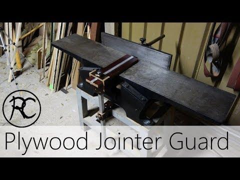 Plywood & Aluminium Jointer Guard
