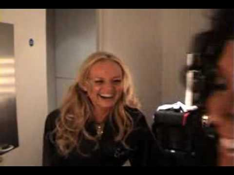 Spice Girls- Backstage at the 02 Arena in London