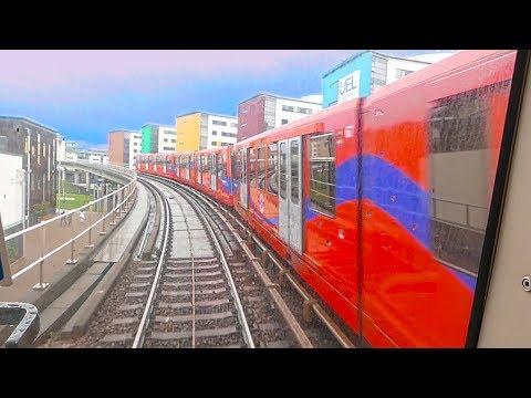 LONDON-DLR-Docklands-ExCeL-Canary Wharf-O2-L C A ✈