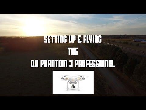 DJI Phantom 3 Professional / Advanced UAV Drone