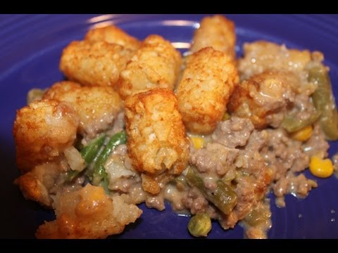Tater Tot Hot Dish Recipe