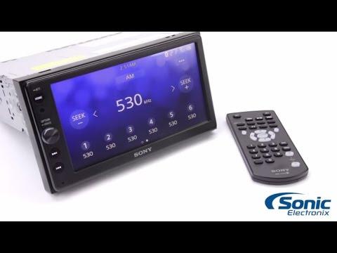 Sony XAV-AX100 Bluetooth Car Stereo   Product Overview