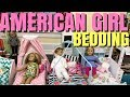HUGE American Girl Doll Bedding Haul