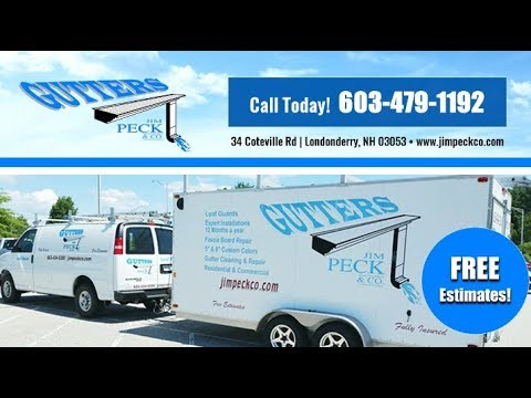 Jim Peck & Co | Londonderry NH Gutters and Downspouts
