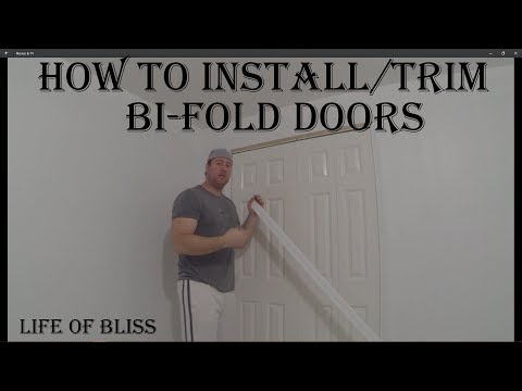 How To Install and Trim Bi-fold Doors On Concrete Floors