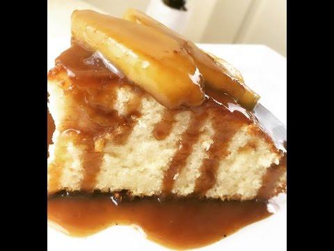 Cast Iron Skillet Caramel Apple Pound Cake