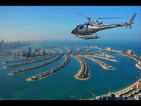 Helicopter Flight Over Dubai