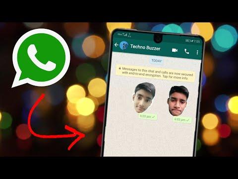 How to make our own personal stickers on Whatsapp   Whatsapp Emoji   Techno Buzzer