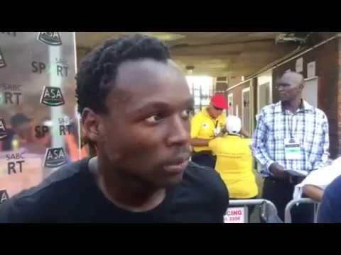 Clarence Munyai SPEAKS AFTER BREAKING Wayde van Niekerk's 200m record!!