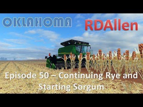 Farming Simulator 15 Oklahoma E50 - More Sorghum  Harvesting