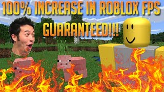 How To Increase Fps In Roblox How To Reduce Lag In Roblox2017