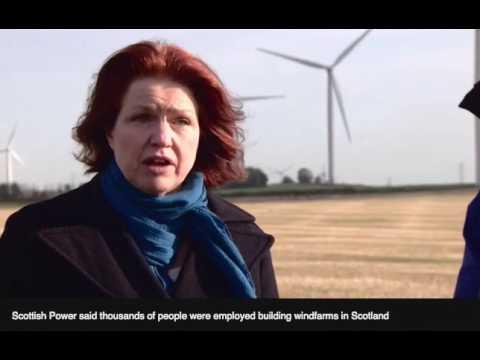 BBC Report - Wind Farm Interview