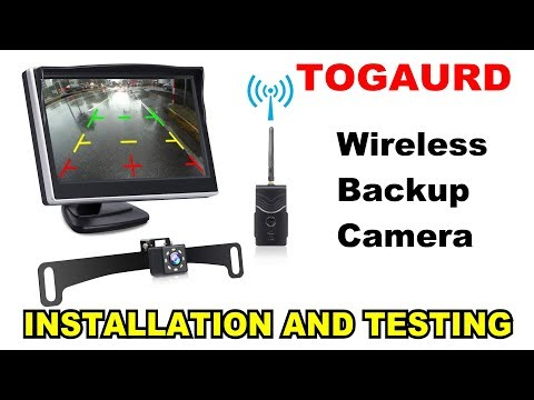 🚗 REVIEW: Togaurd Wireless Backup Camera. Complete Installation Walk Through and Testing!