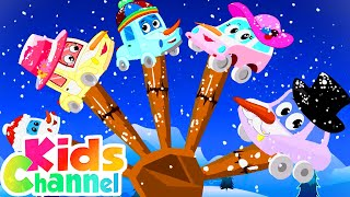 Snowman Finger Family | Christmas Songs for Babies | Xmas Carols & Music - Kids Channel
