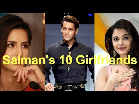 10 Girlfriends of Salman Khan