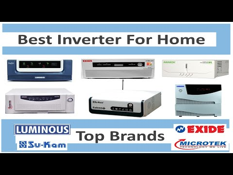 Top 10 Best Inverter In India 2017 | Top 5 Brands | 10 Best Sine Wave Inverters | Best Home Inverter
