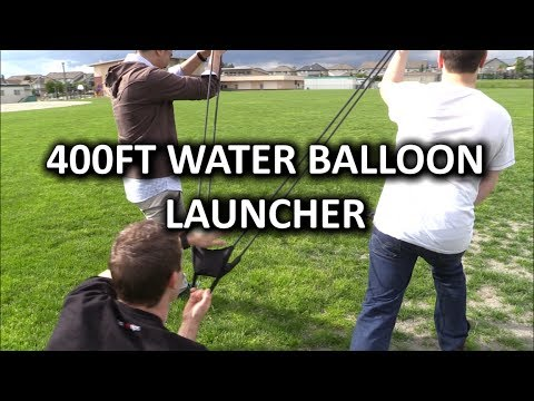 Bam Launcher 400ft Water Balloon Slingshot