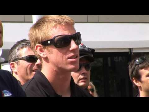 Louis Vuitton Trophy Auckland 2010:  Azzurra gegen Emirates Team New Zealand