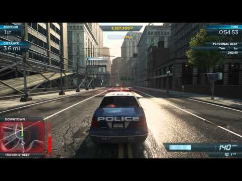 NFS Most Wanted 2012: Ford Crown Victoria Police Interceptor Pro Mods | Most Wanted #10 4C Concept