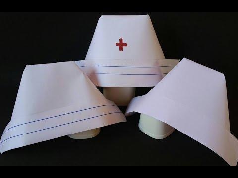Make a Nurse's Cap in 5 Easy steps