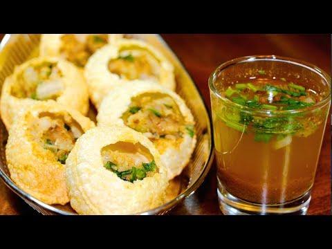 How to Make Golgappa  Easy Instant Panipuri Recipe Suji golgappa recipe in hindi