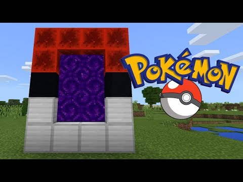 How To Make a Portal to the Pokémon Dimension in Minecraft (Pocket Edition, PC, Xbox, PS4/3, Switch)