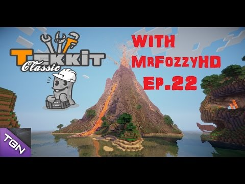 Tekkit Classic - Series 1 - Part 22 - Massive Automated Smelting, Macerating and Compressing System!