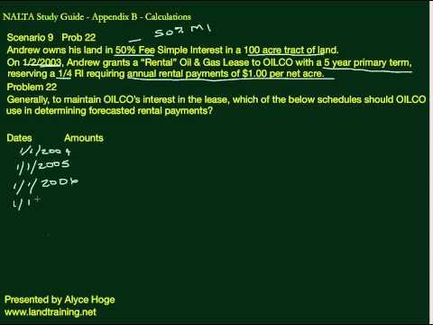 NALTA STUDY GUIDE - Scenario 9  Prob 22