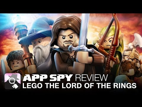LEGO The Lord of the Rings iOS iPhone / iPad Gameplay Review - AppSpy.com