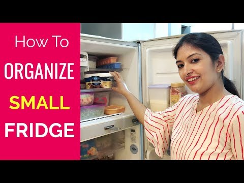 How To Organise SMALL Fridge | Fridge Tour | CookWithNisha
