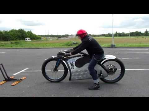 Strom Custom Electric Motorcycle