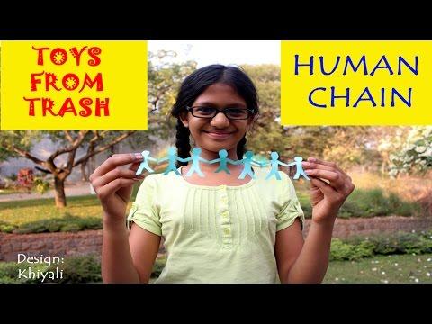 Human Chain | English | Fun with Paper