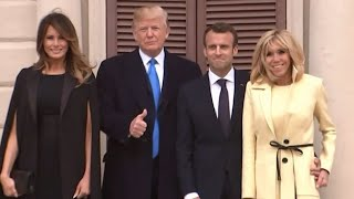 President Trump To Host French President Macron At First Official State Dinner