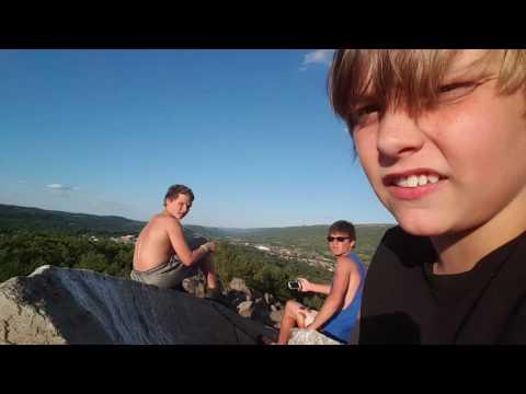 Palmerton rocks. With friends.